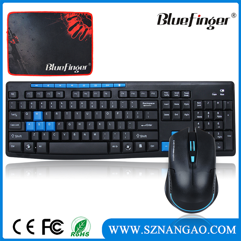 BfKM-061 Bluefinger cheap tablet pc wireless keyboard mouse