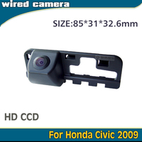 Reversing Car Camera HD CCD In Stock For Honda Civic 2009 Fast Shipping Waterproof Nightvison Wired Wireless Camera