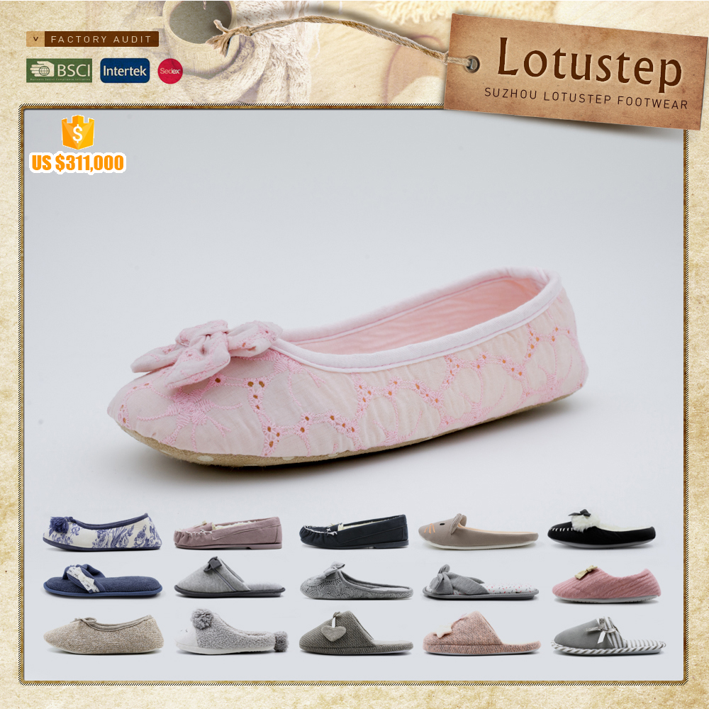 Ladies tops latest design rollable ballet flats fold up ballerina shoes in bag