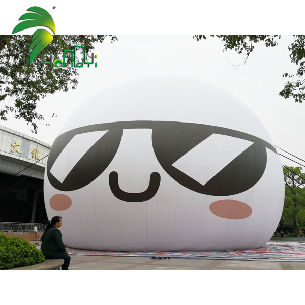 Cheap Advertising Air Helium Balls / Rooftop Inflatable Ground Balloon