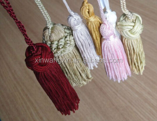 Factory direct sale all kinds of material door decorative tassel