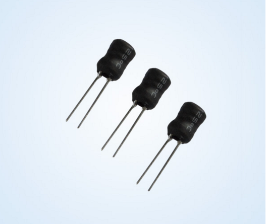 8*12 Radial leaded fixed inductors /ferrite drum core quality factor of inductors