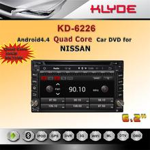 China factory CE certification Bluetooth/WIFI/DAB+/800*480 android audio car stereo system for nissan tiida 2004-2010