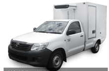 2016 Toyota hulix Mini Refrigerated Van