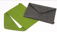 Felt snap type environmental A4 folder bag briefcase felt