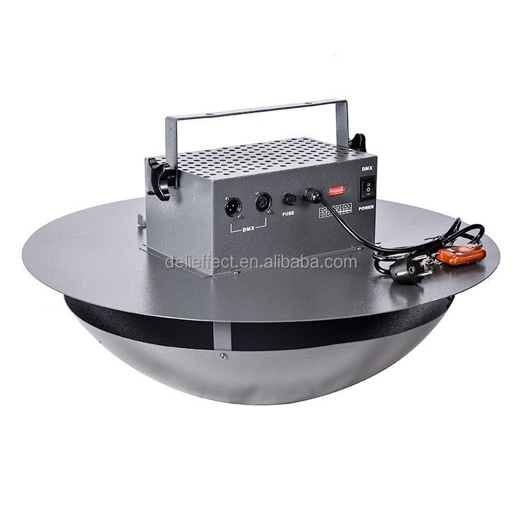 DMX remote control hanging confetti paper blower machine