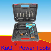KaQi Power Tools Household 12 Volt Cordless Drill Set