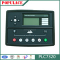 Auto start control panel plc7320 remote control module for brushless generaror