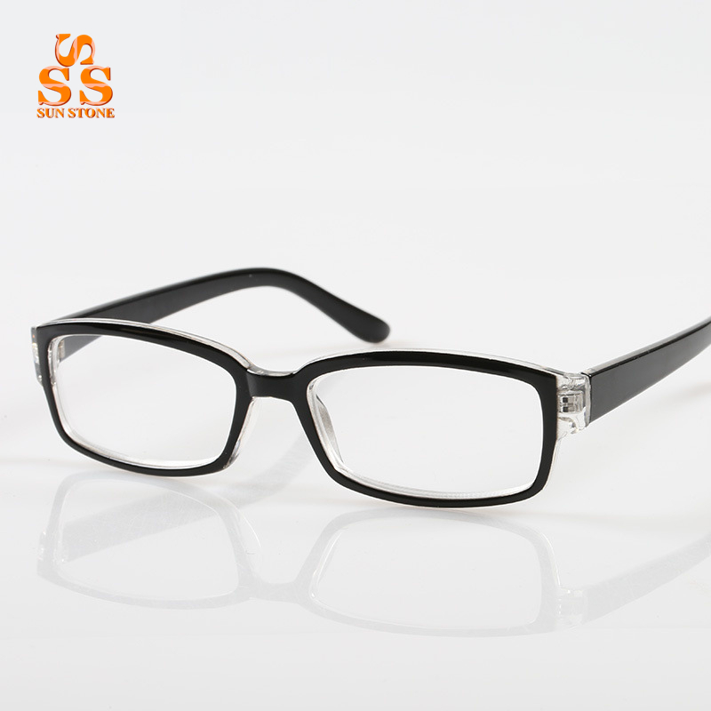 3d2e0cdf82 Get Quotations · Hot Selling Special Offer Elegant Anti Fatigue Plate Frame  Resin Lens Business Reading Presbyopic Glasses