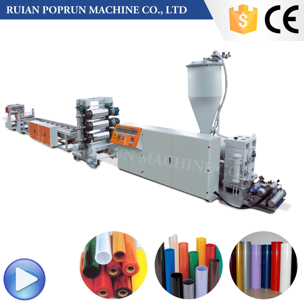PP / PS 380V polystyrene sheet extrusion machine