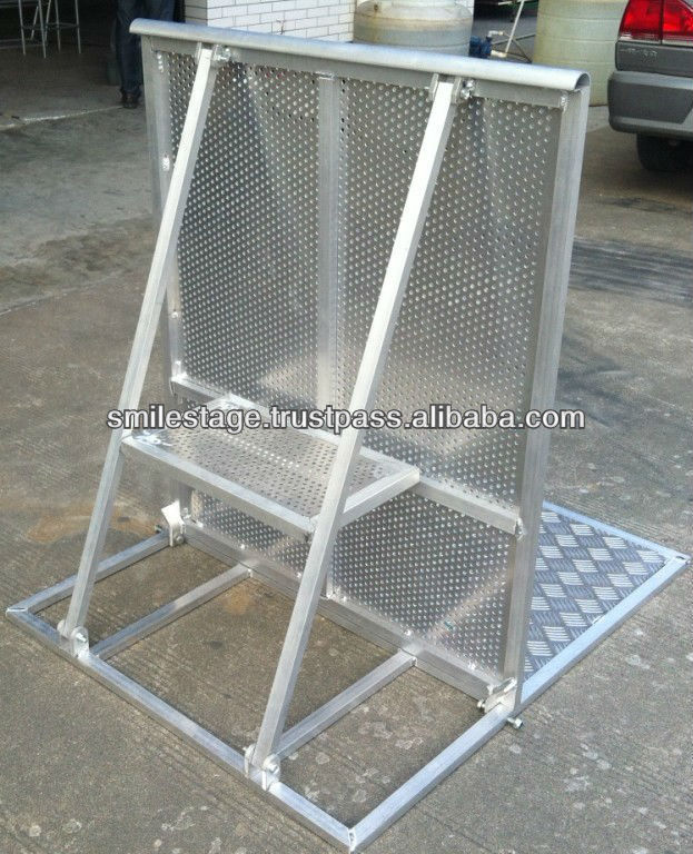 High Quality Aluminum Concert Crowd Control Barrier / BarricadeS