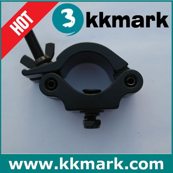 black pipe clamp for truss/M8 bolt clamp for truss/aluminum truss clamp