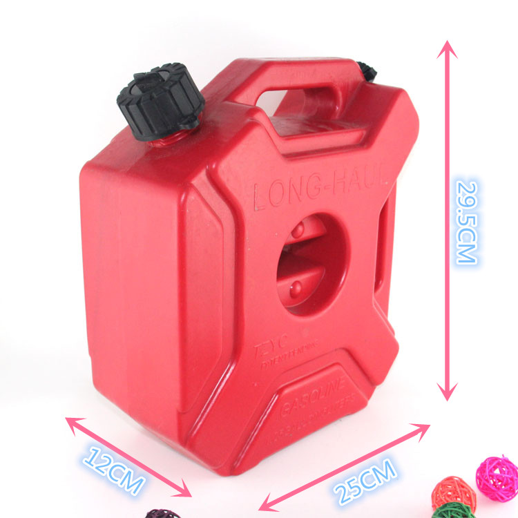 3L Gas Station Portable motorcycle plastic fuel tank
