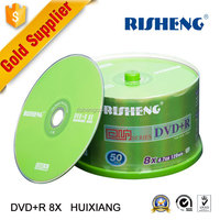 RISHENG blank cds and dvds 8x 4.7GB/blank cds and dvds wholesale/cd dvd disk 50pcs spindle