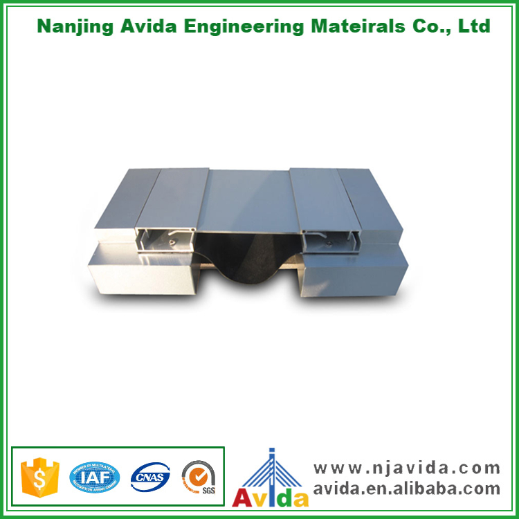 Exterior Aluminum Alloy Expansion Joint Covers for Building Construction