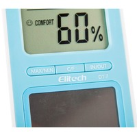 solar cell digital refrigerator thermometer hygrometer DT 7