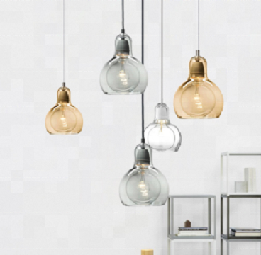 wholesale factory price modern colourful glass chandelier pendant <strong>light</strong>
