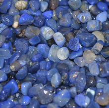 Blue Agate Tumbled Polished Natural agate stones for home decor