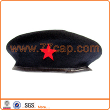 High quality customized military beret hats and caps