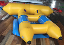 2016 Factory Price Inflatable Flying Fish Tube Towable for Adults