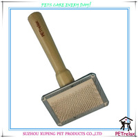 (S) PR80027-1 grace pet new pet grooming product self cleaning pet dog cat hair brush
