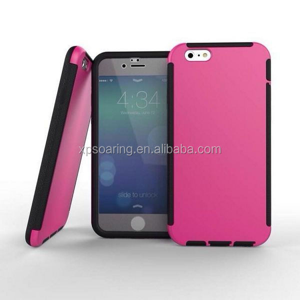 New Design hard shell case skin cover with touch screen for iphone 6