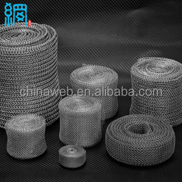 Knitted wire mesh for Mufflers & Silencers