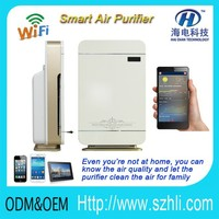 2016 wifi air refresh wireless air quality purifier clean and feedback the air quality