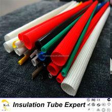 wire harness protect tube silicone fiber glass sleeving