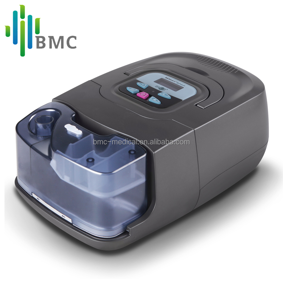 BMC GI Bilevel CPAP Machine (25T) respiratory device With S/T Mode Sleep Snoring OSA COPD With SD Card SpO2 Mask Humidifier