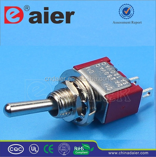 Daier ON-OFF Single Pole Mini Toggle Switch