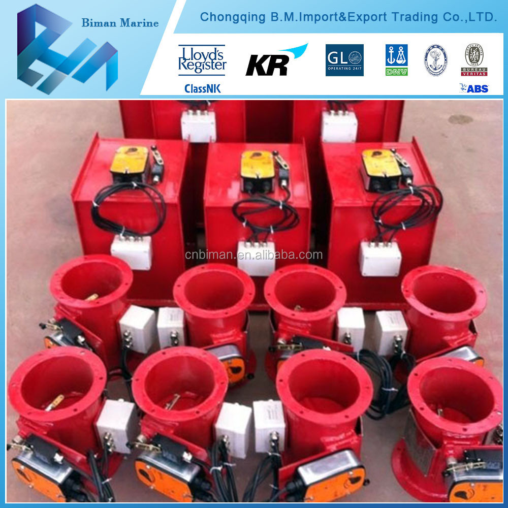 offshore new fire damper pneumatic actuator