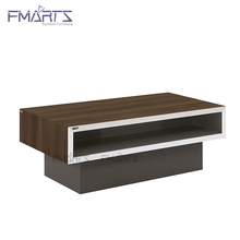 Reliable Performance Ebony High Quality Wooden Modern Office Furniture Modern Coffee Table