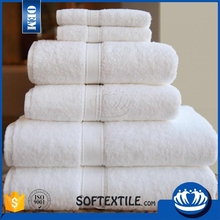 personal custom-made fluffy 100% organic cotton towels