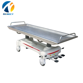 AC-ST007 Luxurious patient transport cart Hydraulic Rise-and-Fall Dissecting table for patient