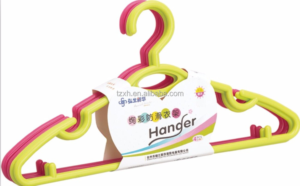 Household plastic clothes hanger for baby