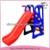 8008A happy plastic slide/outdoor playground equipment