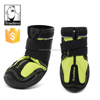 Reflective Waterproof Rubber Sole Truelove Pet Dog Shoes For All Weather