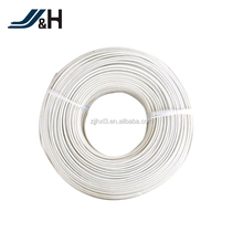 High temperature 300V 16awg 26awg fiberglass braid silicone wire UL3122