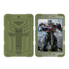 Latest design silicone and plastic combo defender case for iPad mini