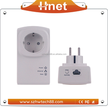 CE FCC RoHs Certification 300M Long Range 500Mbps Wireless Powerline Network Adapter