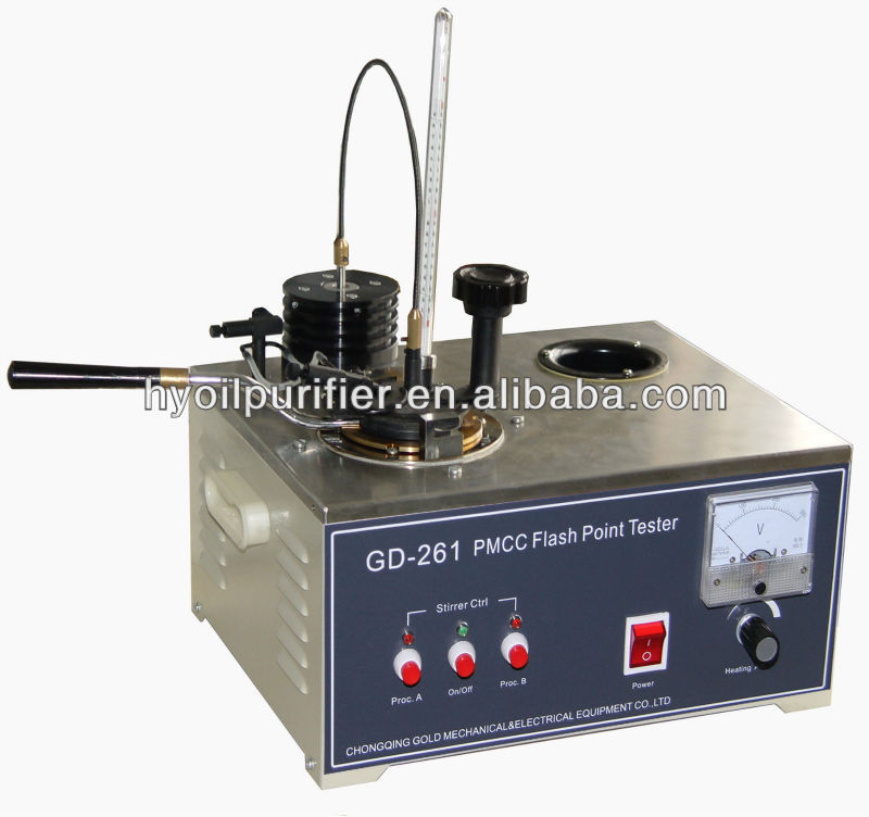 GD-261 Manual PMCC Flash Point Tester , Flash Point Meter