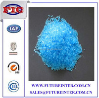 Blue Crystalline Solid Agriculture copper sulphate price/bluestone copper sulphate