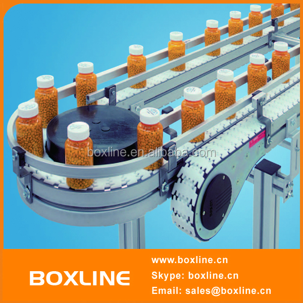 Automatic Bottles Transport Chain Conveyor System