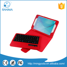 Fashionable Wholesale universal leaher 8 inch tablet pc case with keyboard