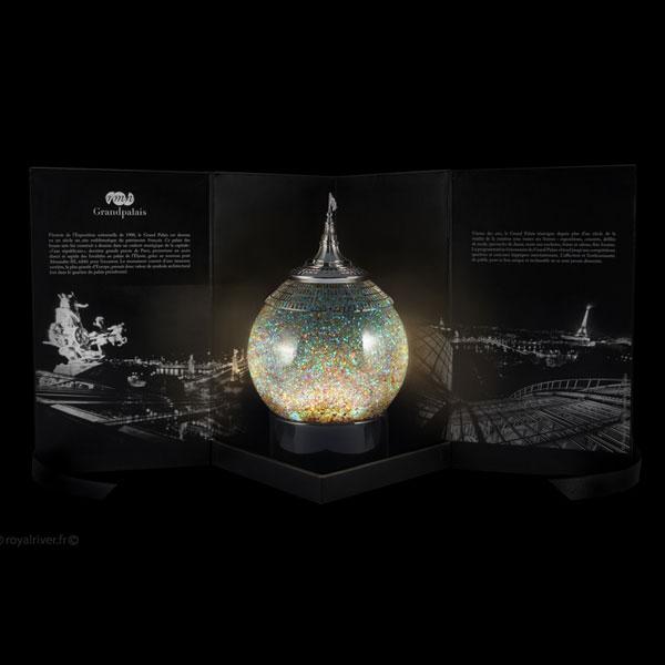 boule neige en verre personnalis e luxe lumineuse image autres cadeaux artisanat id de. Black Bedroom Furniture Sets. Home Design Ideas