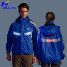Most popular jacket fashion style and adults age group mini led lights clothing