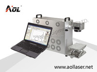AOL stainless steel portable fiber laser metal marking machine price