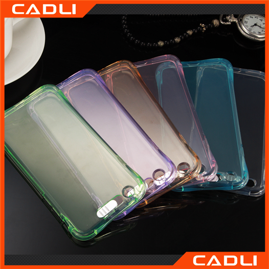 New arrival led light case for iphone 5 call flash phone case anti-shock case for apple i5