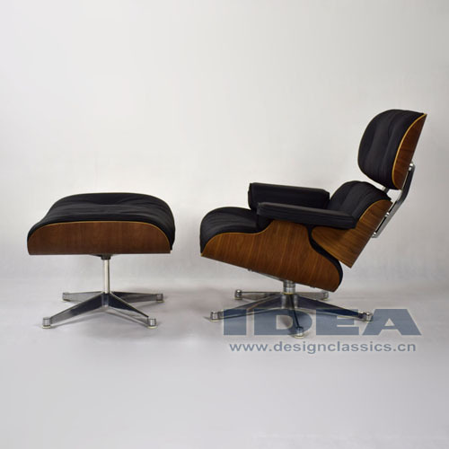 Replica Charles Lounge Chair and Ottoman